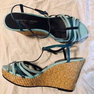🍒🍒4 for 25 Christian Siriano Wedge Sandals